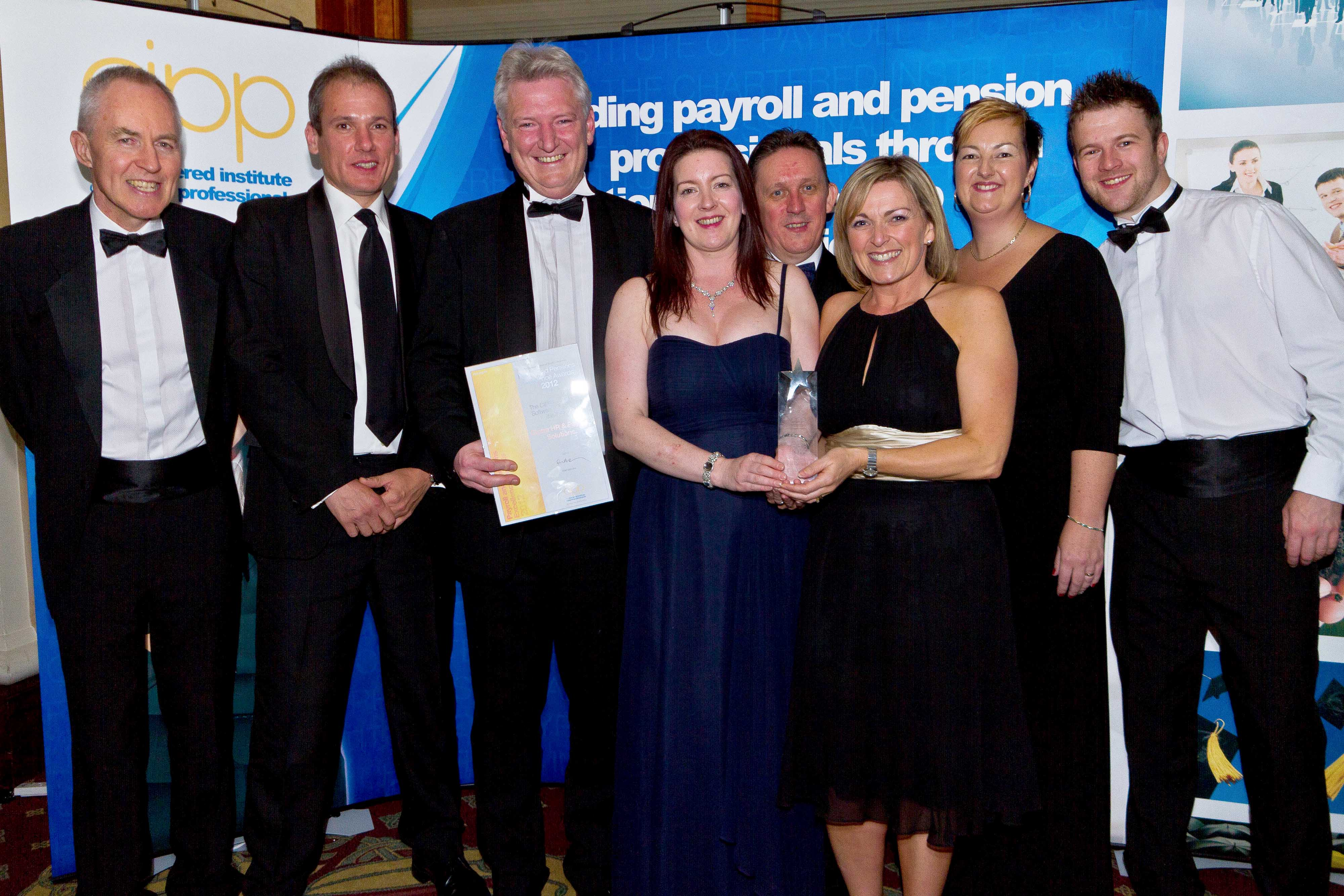 The proud Cintra team and their award at the CIPP Awards evening