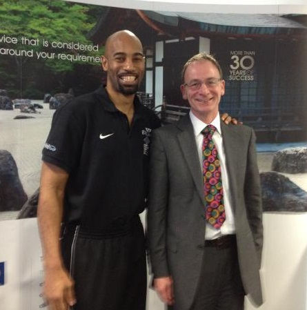 Fabulous Flournoy, Newcastle Eagles and Phil Nilson, HMRC at the Cintra Client Conference
