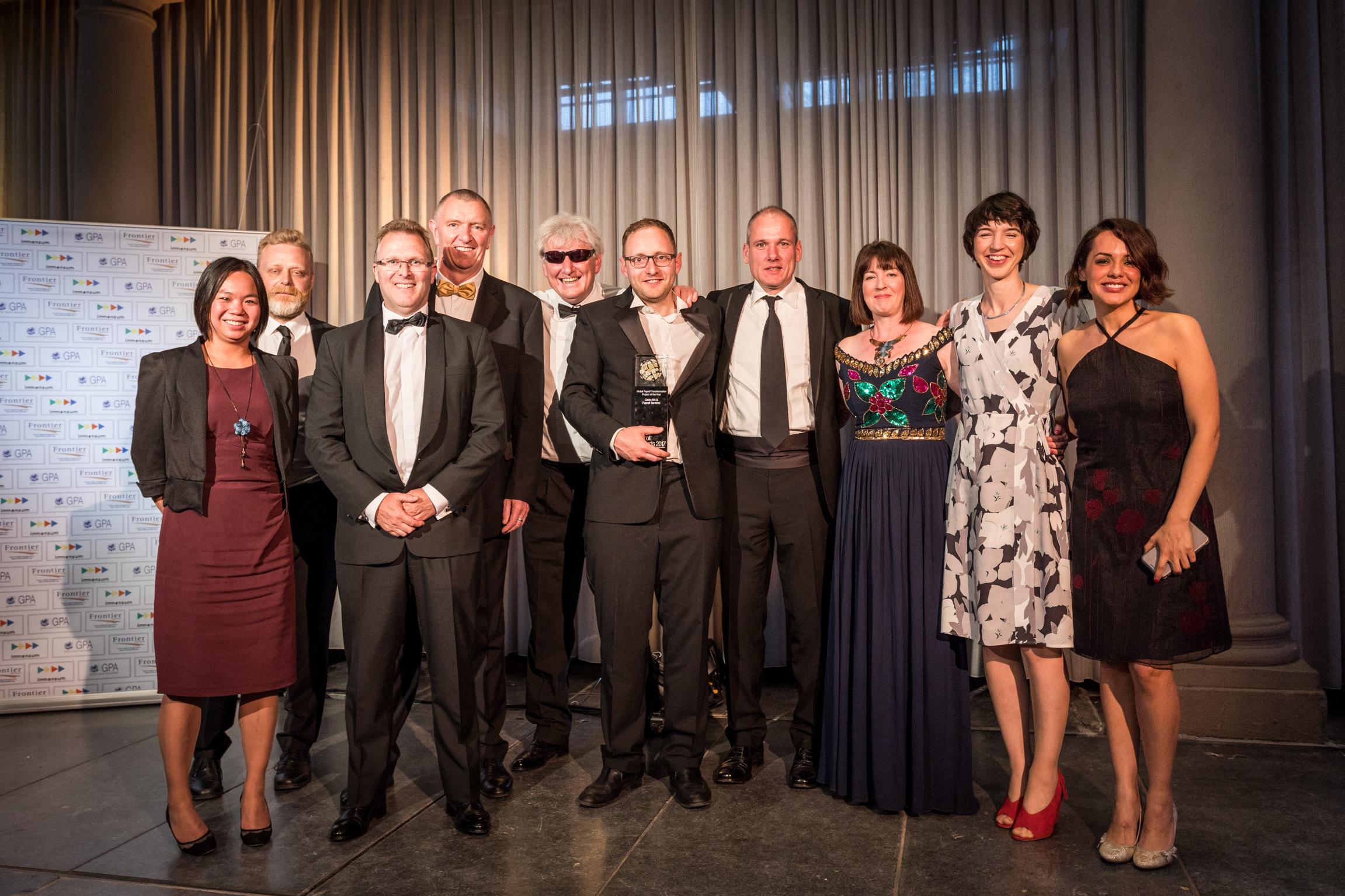 Cintra HR & Payroll Services, Global Payroll Association Award ceremony, Westerkerk Amsterdam