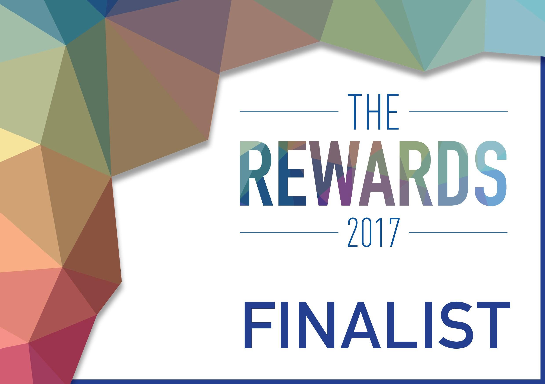 The Rewards Finalist logo