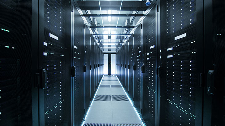An image of a data centre.