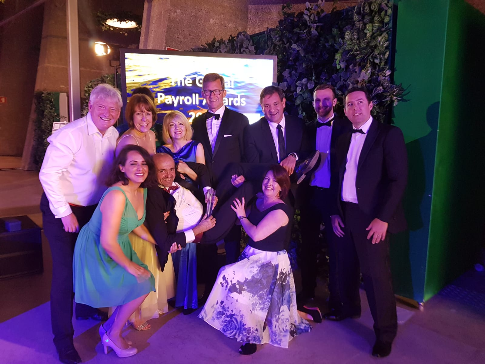 Cintra HR & Payroll Services at the Global Payroll Awards