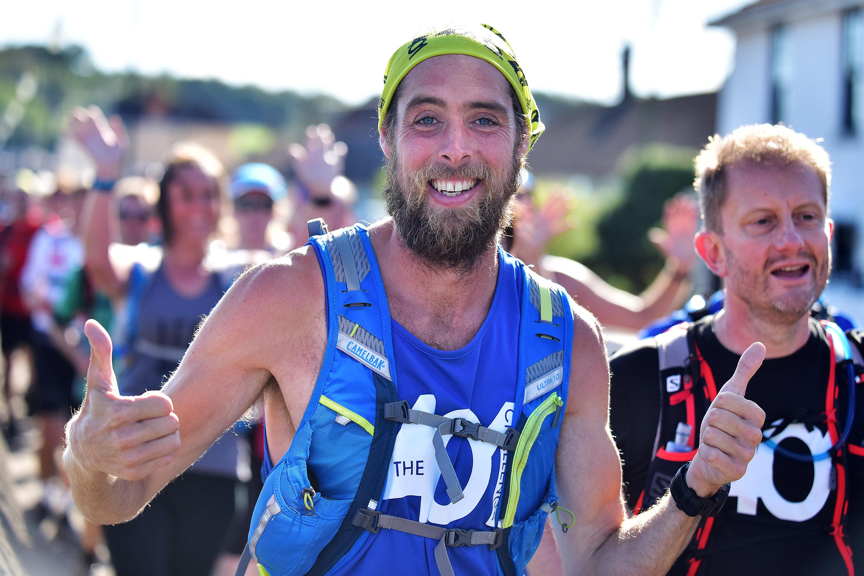 401 Challenge - Ben Smith completes his final marathon in Bristol